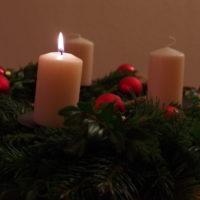 Kerze, 1. Advent